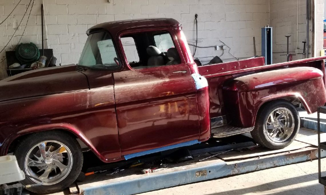 1955 Chevy Pick Up Hot Rod Grimm S Automovation